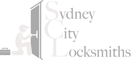 Sydney City Locksmith Reversed Logo